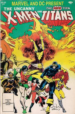 Marvel and DC Present: The Uncanny X-Men and The New Teen Titans