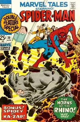 Marvel Tales (Comic Book) #30