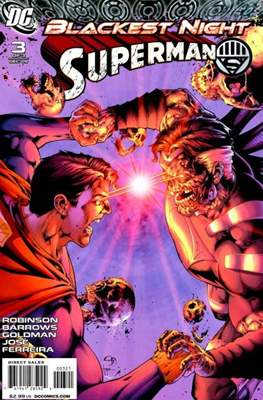 Blackest Night: Superman (2009) (saddle-stitched) #3