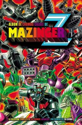 Álbum de cromos Calbee de Mazinger Z (Cartoné 48 pp) #