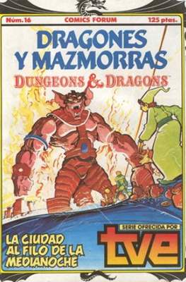 Dungeons and dragons. Dragones y mazmorras (Grapa 32 pp) #16