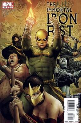 The Immortal Iron Fist (2007-2009) (Grapa) #22