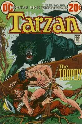 Tarzan (Comic-book) #218