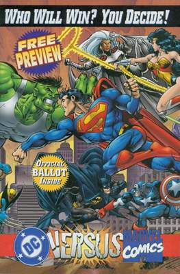 DC versus Marvel - Free Preview