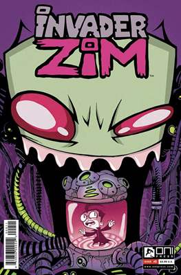 Invader Zim (Comic Book) #9