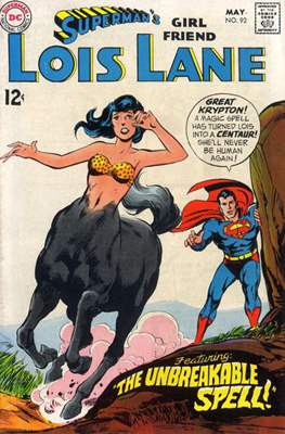 Superman's Girl Friend Lois Lane (Comic-book) #92