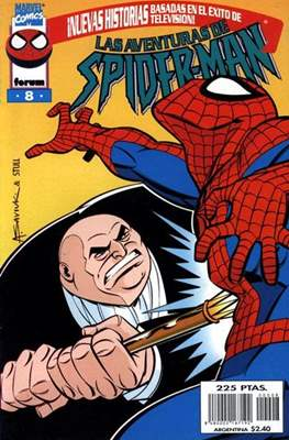 Las aventuras de Spiderman (Grapa 24 pp) #8