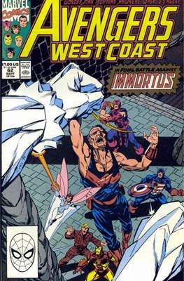 West Coast Avengers Vol. 2 (Comic-book. 1985 -1989) #62