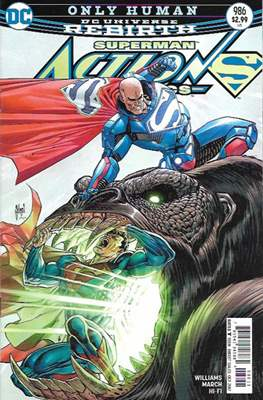 Action Comics Vol. 1 (1938-2011; 2016-) (Comic Book) #986