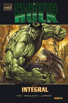 Planeta Hulk Integral. Marvel Deluxe