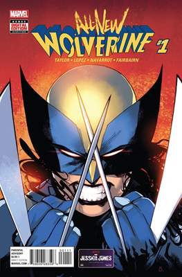 All-New Wolverine (2016-) #1
