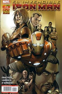 El Invencible Iron Man Vol. 2 (2011-) (Grapa - Rústica) #10