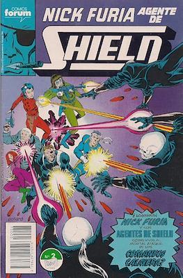 Nick Furia, Agente de SHIELD vol. 1 (1990-1991) (Grapa. 17x26. 32 páginas. Color. (1990).) #2