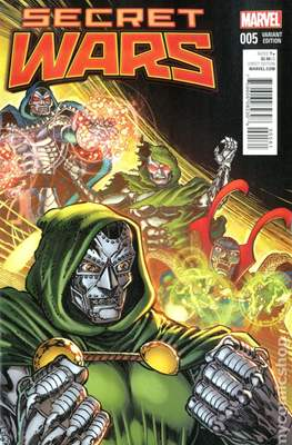 Secret Wars (2015) Variant Covers (Comic Book) #5.3