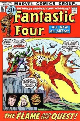 Fantastic Four Vol. 1 (1961-1996) (saddle-stitched) #117