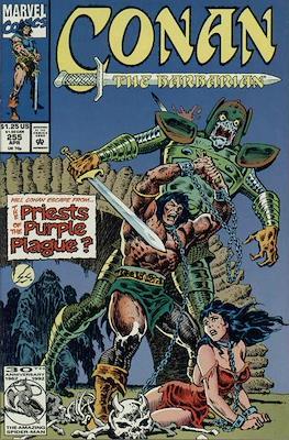 Conan The Barbarian (1970-1993) (Comic Book 32 pp) #255