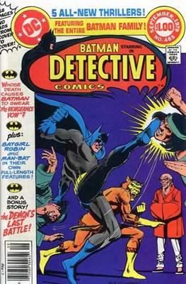 Detective Comics Vol. 1 (1937-2011; 2016-) (Comic Book) #485