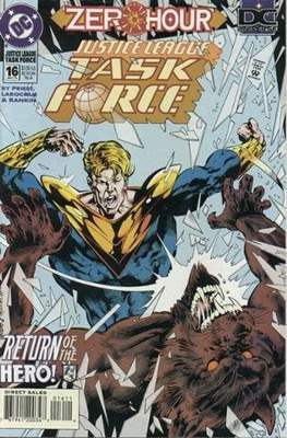 Justice League Task Force (Comic Book) #16