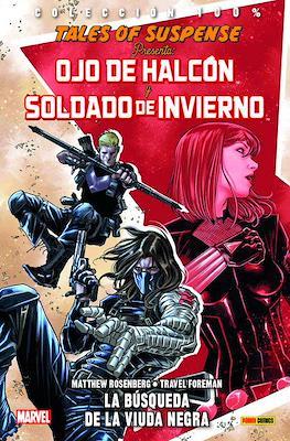 Tales of Suspense Presenta Ojo de Halcón y Soldado de Invierno: La búsqueda de la Viuda Negra. 100% Marvel