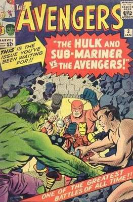 The Avengers Vol. 1 (1963-1996) (Comic Book) #3