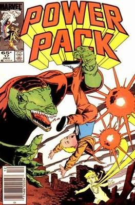 Power Pack (1984-1991; 2017) (Grapa) #17