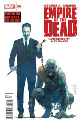 George A. Romero Empire of the Dead (comic-book) #2