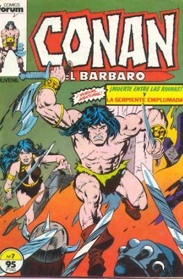 Conan el Bárbaro (1983-1994) (Grapa. 19x27. 36/32/24 páginas. Color.) #7