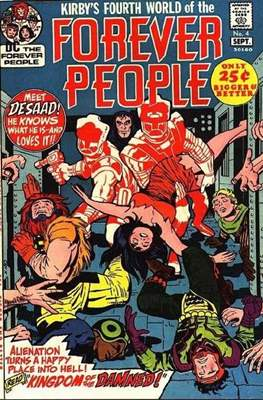 The Forever People (Comic Book) #4