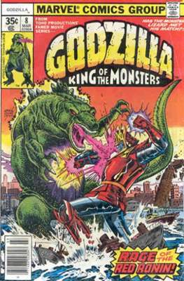 Godzilla King of the Monsters #8