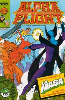 Alpha Flight Vol. 1 / Marvel Two-in-one: Alpha Flight & La Masa Vol.1 (1985-1992) (Grapa 32-64 pp) #16