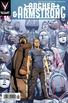 Archer & Armstrong (Grapa) #16