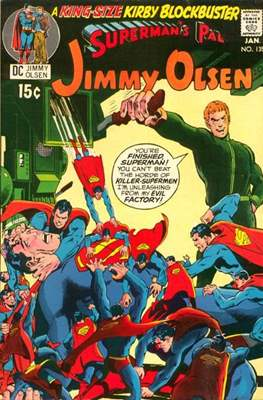 Superman's Pal, Jimmy Olsen / The Superman Family (Grapa,) #135