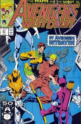 West Coast Avengers Vol. 2 (Comic-book. 1985 -1989) #67