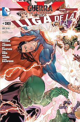 Liga de la Justicia (Grapa) #22