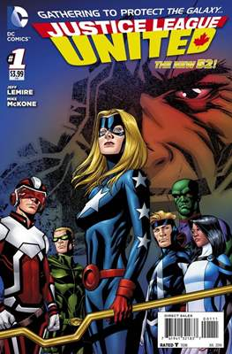 Justice League United (2014-2016) (Grapa) #1