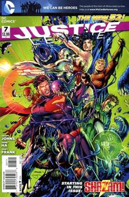 Justice League Vol. 2 (2011-2016) #7