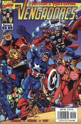 Los Vengadores vol. 3 (1998-2005) (Grapa. 17x26. 24 páginas. Color. (1998-2005).) #1