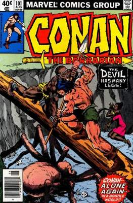 Conan The Barbarian (1970-1993) (Comic Book 32 pp) #101