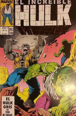 El Increible Hulk (Grapa) #11