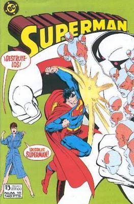 Superman Vol. 2 (1987-1993). El hombre de acero / Superman (Grapa 36 pp) #16