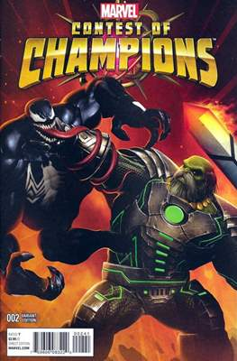Contest of Champions (2015-2016 Variant Cover) #2.1