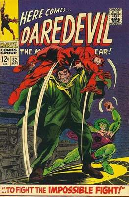 Daredevil Vol. 1 (1964-1998) (Comic Book) #32