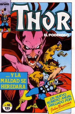 Thor, el Poderoso (1983-1987) #48