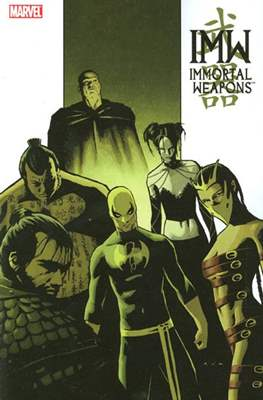 Immortal Weapons TPB