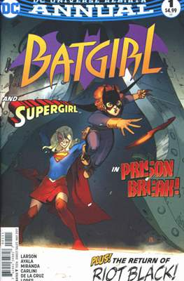 Batgirl Vol. 5 Annual (2017-) (Comic book) #1