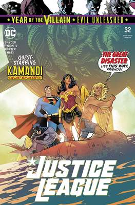Justice League Vol. 4 (2018- ) (Comic Book) #32