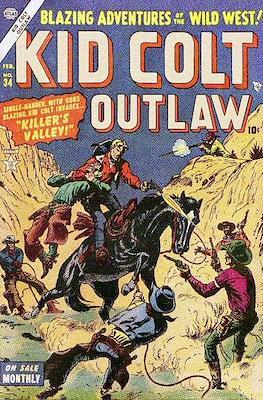 Kid Colt Outlaw Vol 1 #34
