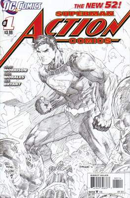 Action Comics (Vol. 2 2011-2016 Variant Covers) (Comic Book) #1.5