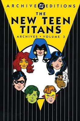 DC Archive Editions. The New Teen Titans #3