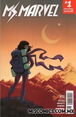 Ms. Marvel (2016-2017) (Grapa) #12